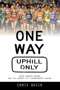 "Click here to buy ""One Way, Uphill Only"" at Amazon"